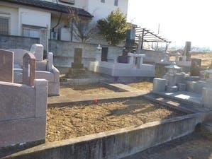 有馬墓地の画像