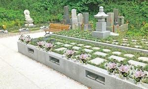白山釜利谷樹木葬墓地の画像