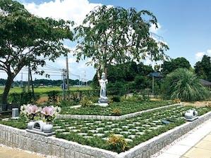 柏樹木葬墓地の画像