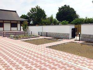 蓮田樹木葬墓地の画像