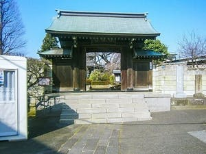 日曜寺愛染墓苑の画像
