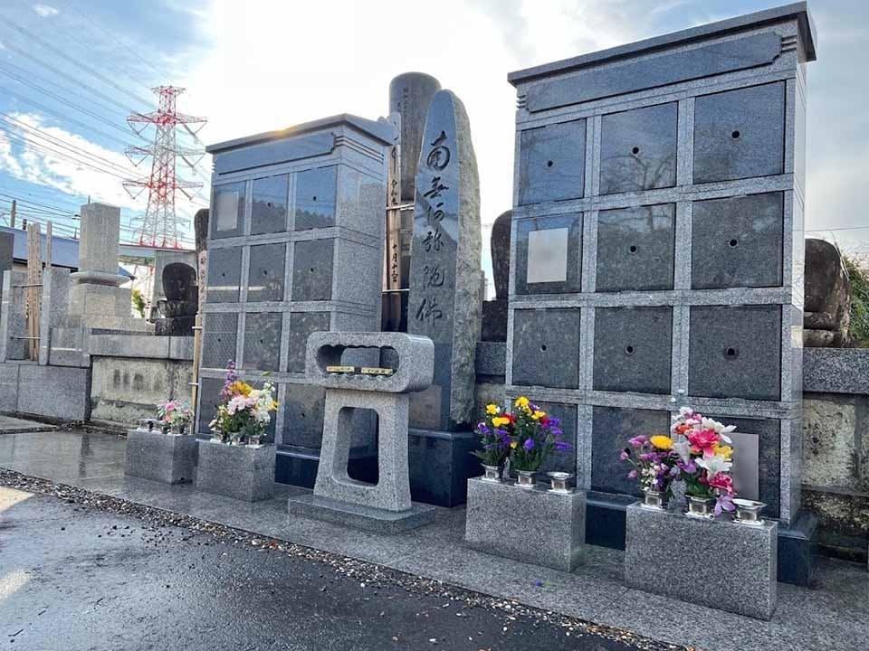 天宗寺 のうこつぼ