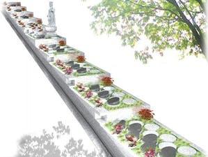 八事林泉寺樹木庭園墓地の画像