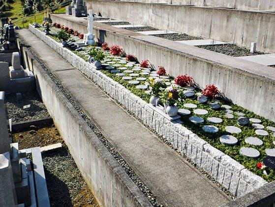葵北沼上樹木葬墓地