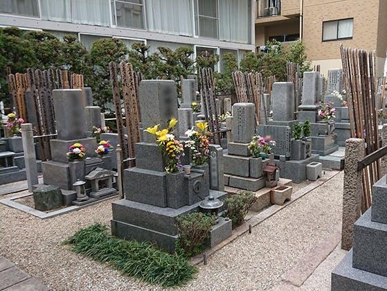 長久寺墓地