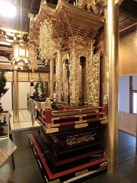 正覺寺 本堂内納骨