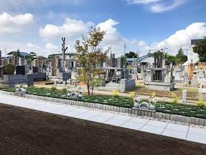 古河沙羅双樹樹木葬墓地の画像
