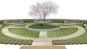 樹木葬霊園 憩いの画像
