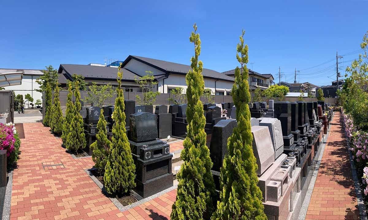 水元霊園(樹木葬・一般墓)