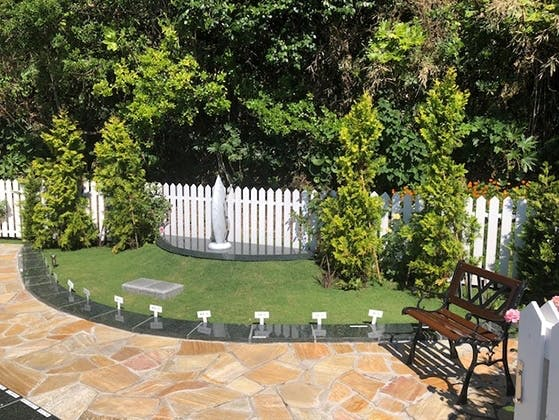 七里ガ浜 顕証寺墓苑 樹木葬