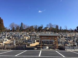 船山墓地の画像