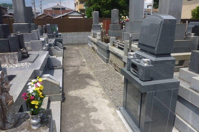 珠林寺 庭園型墓地