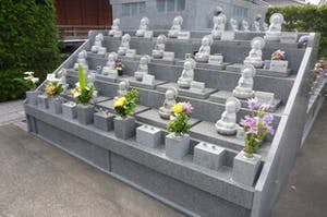 珠林寺 庭園型墓地の画像