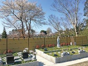土気さくら樹木葬墓地の画像