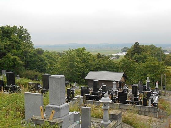 深谷共葬墓地