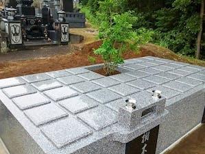 王城山樹木葬の画像