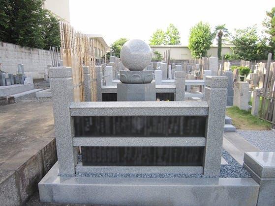 立本寺(教法院)墓地