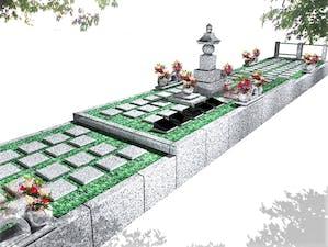 豊橋駅前樹木葬墓地の画像