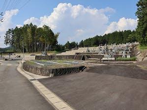 中津川市営 苗木八幡墓地の画像