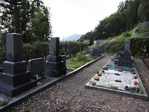 中津川市営 神坂墓地の画像