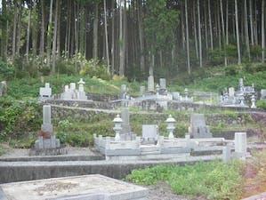 向本寺墓地の画像