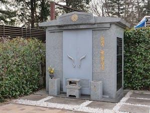 長明寺 小金井墓苑『翠区』の画像