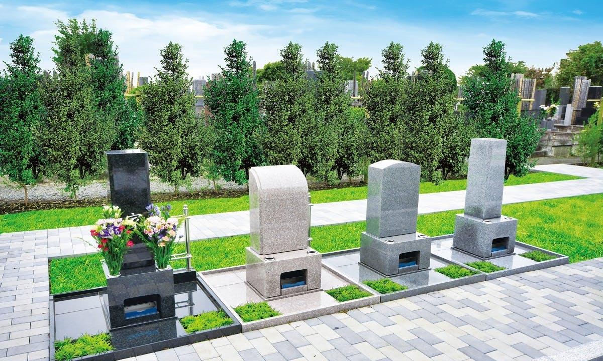 和モダン庭園墓 小平 寳縁の庭