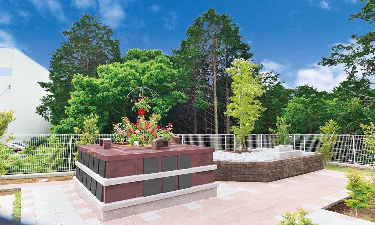 メモリアルパーク花の郷墓苑あしたか 樹木葬・永代供養塔