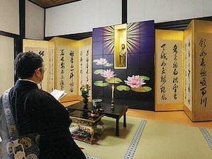 明厳寺 室内お墓「納骨檀」の画像