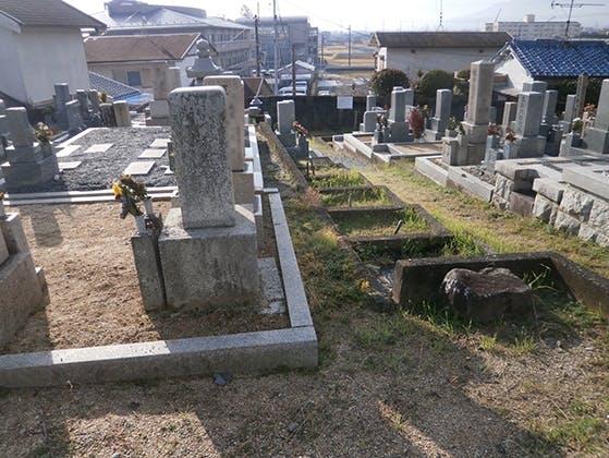 五ヶ大字墓地