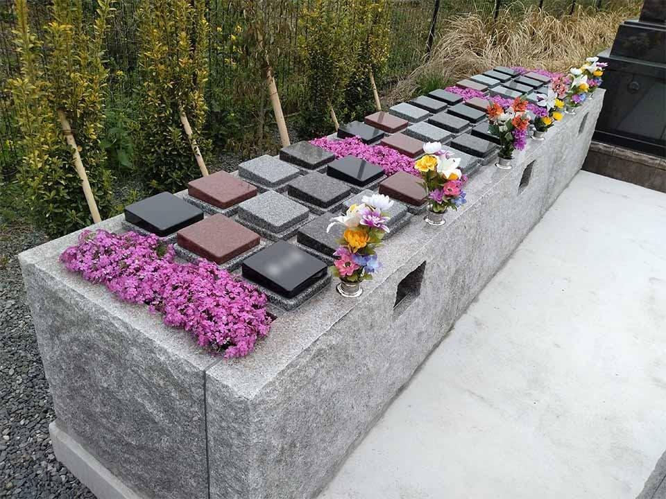 境の松墓園