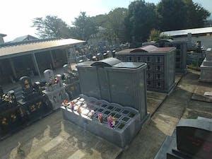 小山黒迫墓地の画像