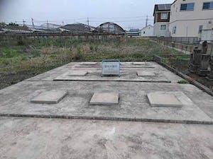 伊勢崎市西久保墓地の画像
