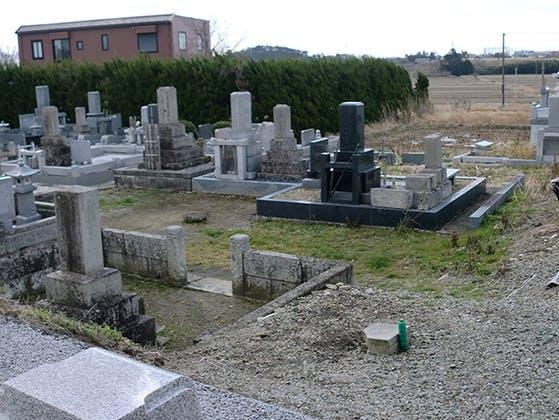地の岡墓地