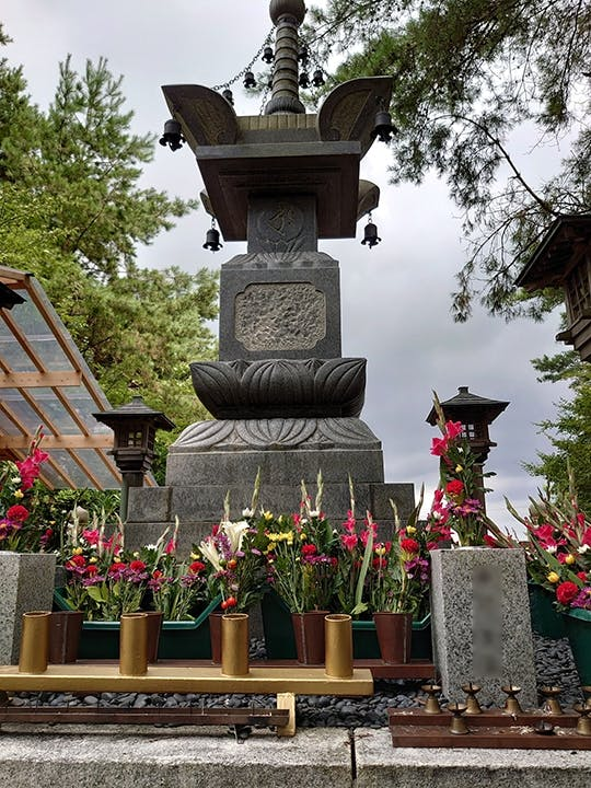 永安寺「宝篋印塔」