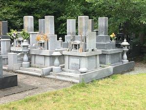 城山墓地の画像