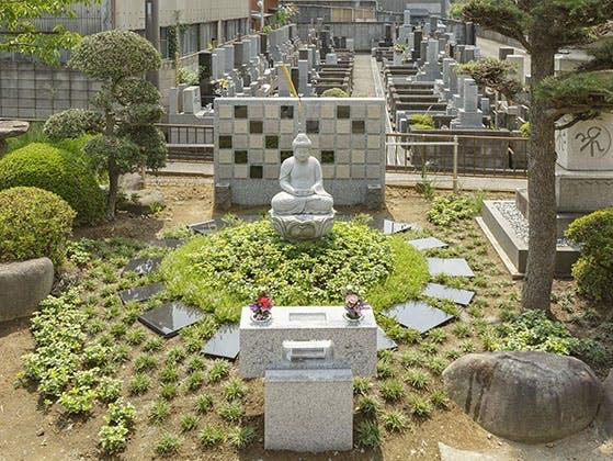 常然寺 樹木葬永代供養墓「紫苑」