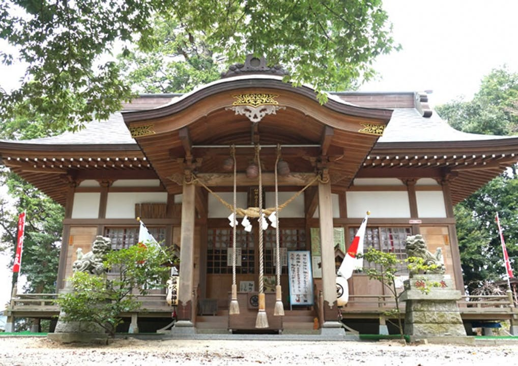 佐麻久嶺神社 中山の霊園