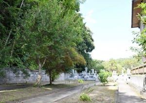 佐麻久嶺神社 中山の霊園の画像
