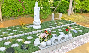 岩槻樹木葬墓地の画像