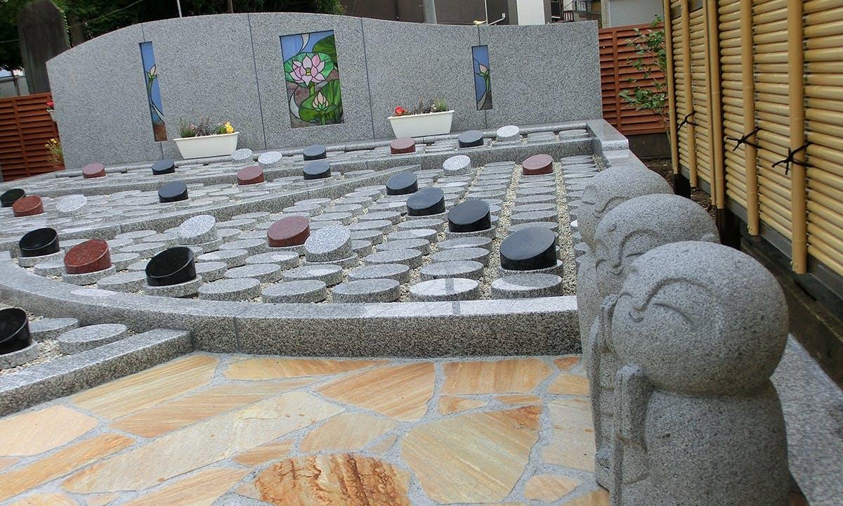 草加樹木葬墓苑『篠葉の杜』
