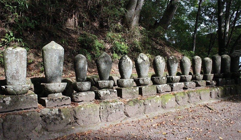 安国寺 杜の墓地