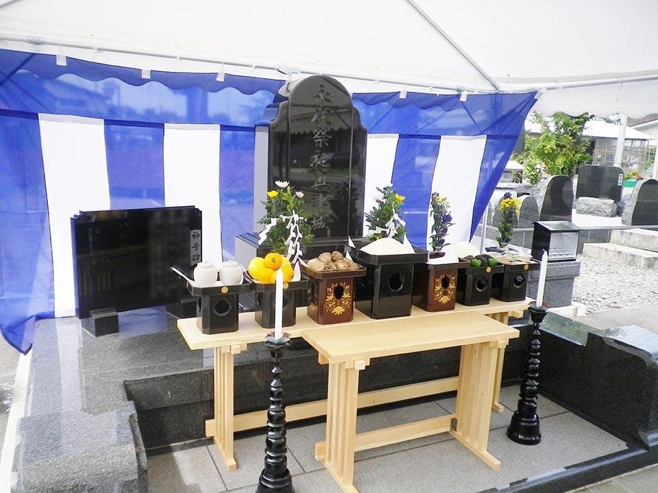 神社墓地 浅舞の杜