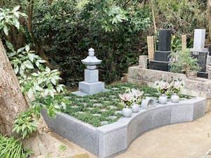 北鎌倉の杜樹木葬墓地の画像