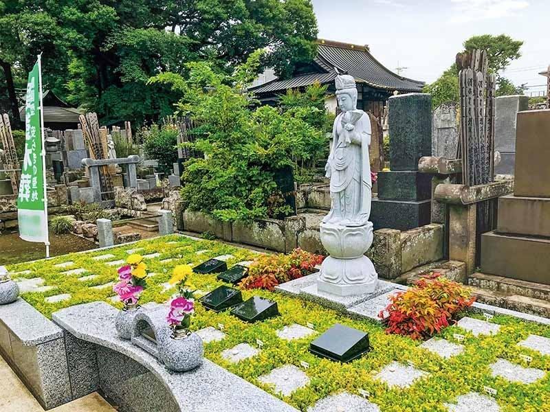 練馬春日町楠の杜樹木葬墓地