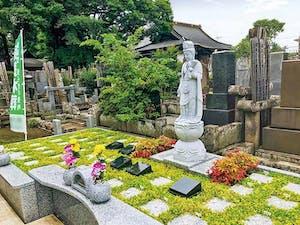 練馬春日町楠の杜樹木葬墓地の画像
