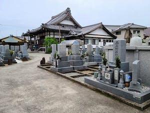萬福寺墓地の画像
