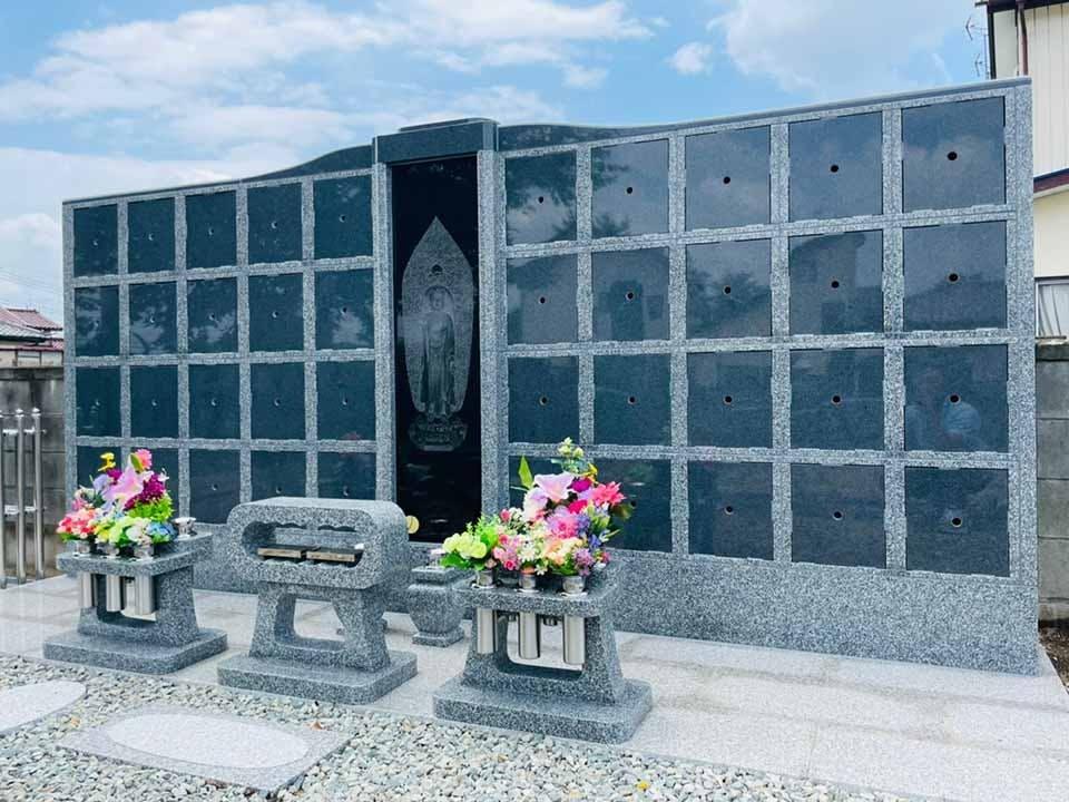 萬福寺 のうこつぼ