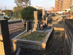 鶴形墓地の画像