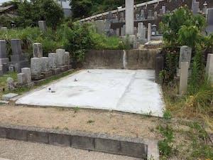 船穂墓地の画像
